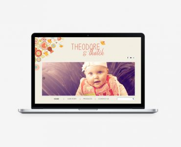 Theodore & Thatch Ecommerce Website
