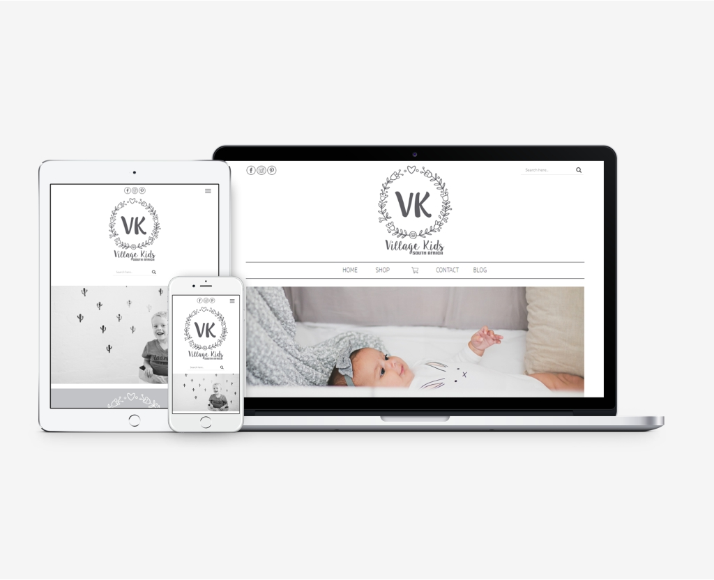 Village Kids Ecommerce Website