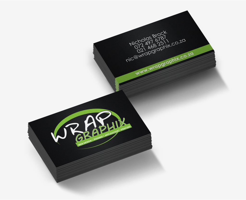 Wrap Graphics Business Card