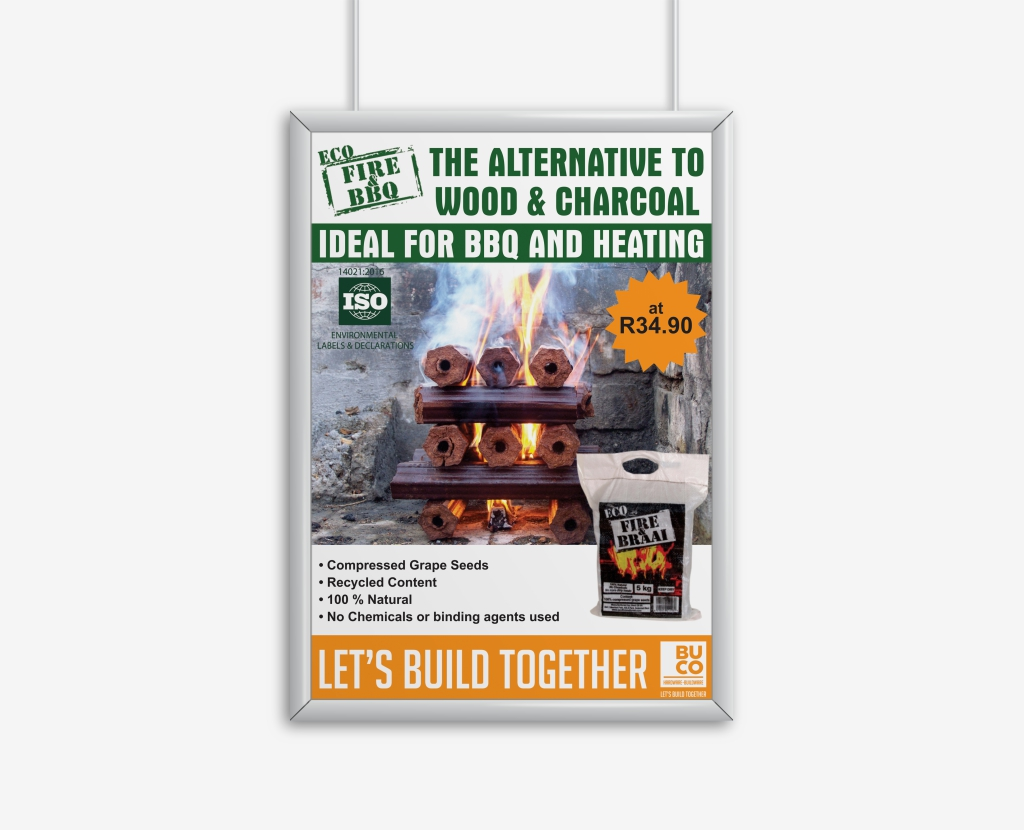 Eco Fire & BBQ Poster